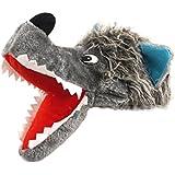 30cm grises de la novedad mullidas Sombrero del lobo - despedidas de solteras - Vestidos de Fiesta