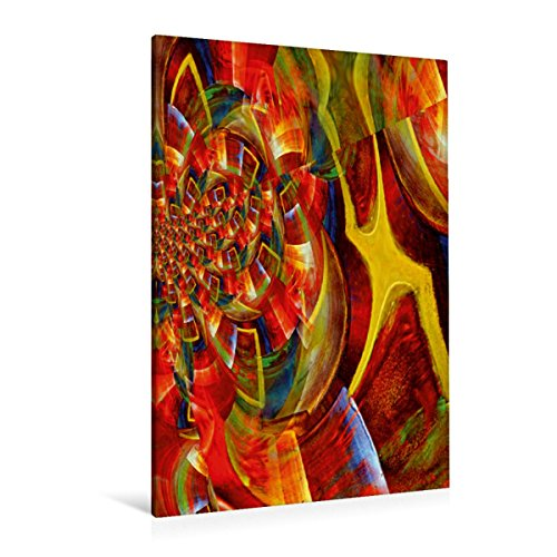 Calvendo Premium Textil-Leinwand 80 cm x 120 cm hoch Mobile Formulare | Wandbild, Bild auf Keilrahmen, Fertigbild auf Echter Leinwand, Leinwanddruck Kunst Kunst