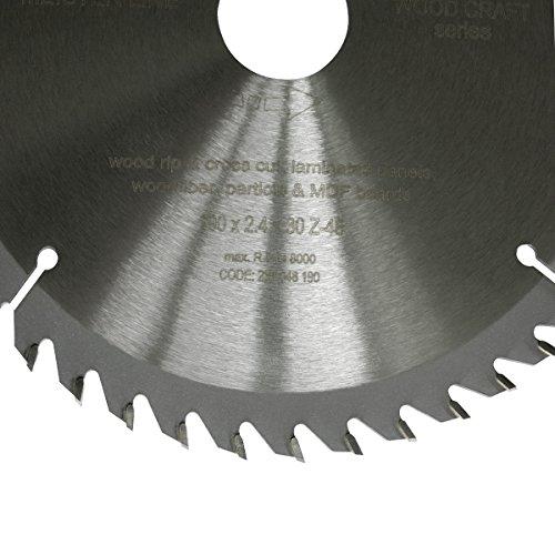 S&R Kreissägeblatt 190 x 30 x 2,4mm 48T /Wood Craft/ Holz Kraft in Profiqualität