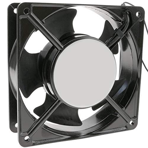 Cablematic - Ventilador de chasis de 220 VAC y 120x120x38 mm con...