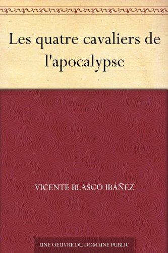 Couverture du livre Les quatre cavaliers de l'apocalypse