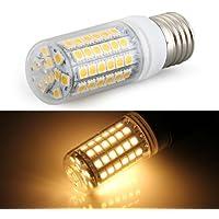 Sonline E27 8W 69 LED 5050 SMD Foco Lampara Bombilla 3000K Luz Blanco Calido