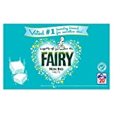 Fairy Non-Bio Washing Tablets, 20 Washes, Pack of 2
