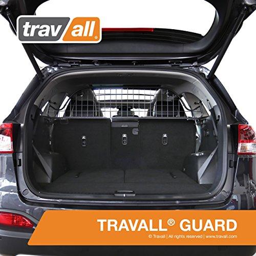 Travall® Guard Hundegitter TDG1492 - Maßgeschneidertes Trenngitter in Original Qualität