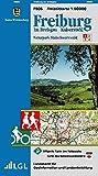 Freiburg im Breisgau: Naturpark Südschwarzwald 1 (Karte des Schwarzwaldvereins)