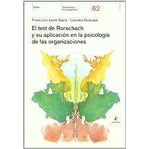 El test de Rorschach y su aplicación en la psicología de las organizaciones (Psicometria Psicodiagnostic)