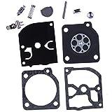 HIPA Kit Joints de Réparation pour Carburateur ZAMA C1Q-S86 C1Q-S87 C1Q-S89 C1Q-S90 C1Q-S91 C1Q-S92 C1Q-S102