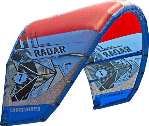 cabrinha Radar–Kite–2017by Wave Gorilla, rojo y azul, 7