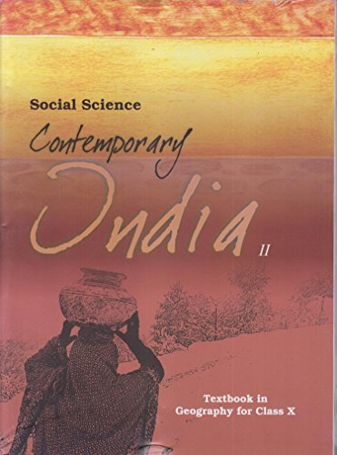 Contemporary India Part – 2 Textbook in Geography for Class – 10  – 1068 513za0lsqfL