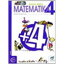 Txanela 4 - Matematika 4 - 9788483319697
