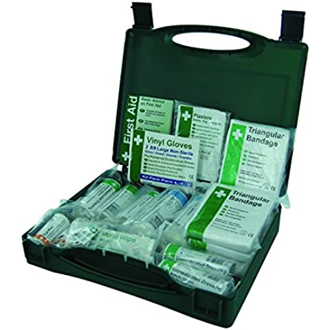 Safety First Aid K10AECON HSE - Kit de primeros auxilios para 1 a 10 personas