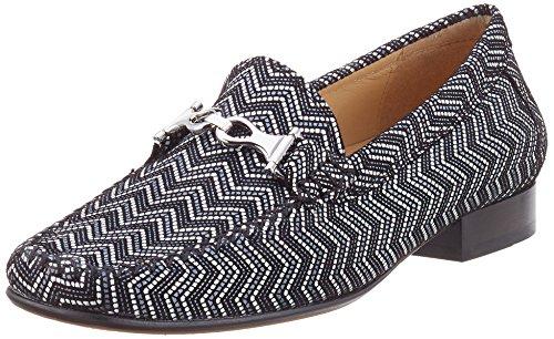 Sioux Caletta, Mocassins (loafers) femme Schwarz (Schwarz)