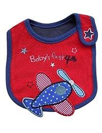 QinMM Baberos Bebé Impermeable De Dibujos Animados Multicolor Para Los Niños