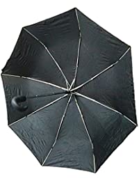 Shree-Hari Fold Automatic Open And Close UV Protective Umbrella With Cover (color May Vary)