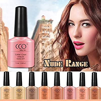 New Official Cco 2017 Nude Range Colors Uv Led Nail Gel Polish Professional Soak Off Colours Top Coat Base Coat Cleanser Remover