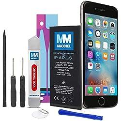 MMOBIEL Batterie Compatible avec iPhone 6 Plus Li-ION 3,82v 2915 mAh 6.9 Wh + Instructions et Kit d'Outils Inclus
