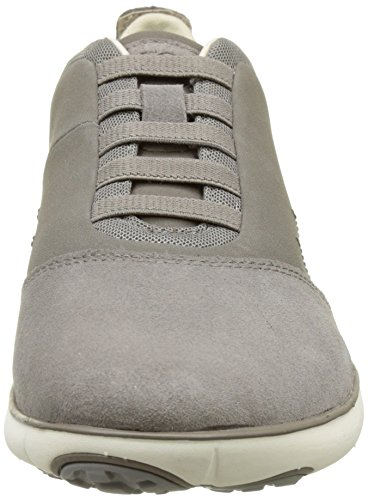 Geox U Nebula B, Baskets Basses Homme Gris (Dove Grey)