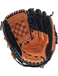"Louisville Slugger GENB1200RH - Guante izquierdo de béisbol ( softball, 12 "" (30,48 cm) ) , color (Tan/Black)"