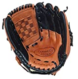 Best Baseball Gloves - Louisville Slugger Baseball/Softball Glove - Tan/Black, 12 Inch Review