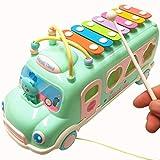 Giocattoli per bambini, Gioco di Puzzle per Bambini, 0-3-6-12 Mesi Ragazzo e Ragazza, Blocchi di Perline 1-2-3 Anni