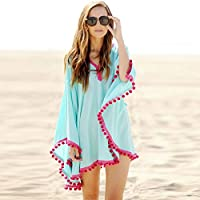Blue Sarong & Cover Ups For Women