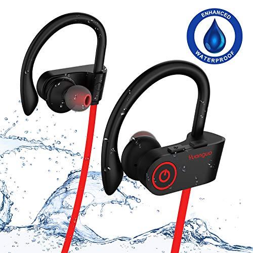 Cuffie Bluetooth V4.1 Arbily Wireless Bluetooth Auricolare In-Ear Stereo Sports Noise Cancelling Auricolari Sportive per Running/Impermeabile/Esercizio/sweatproof headset con Microfono