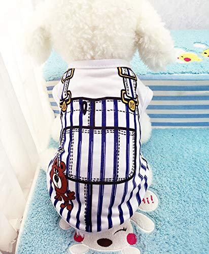 ELYQGGG Günstige Hundeweste Sommer Haustier Kleidung für Hunde Katze Weste Shirt Kleidung für Hunde Kostüm Small Medium Hund Kleidung Chihuahua Yorkshire 11 S (Hunde Elf Kostüm Medium)