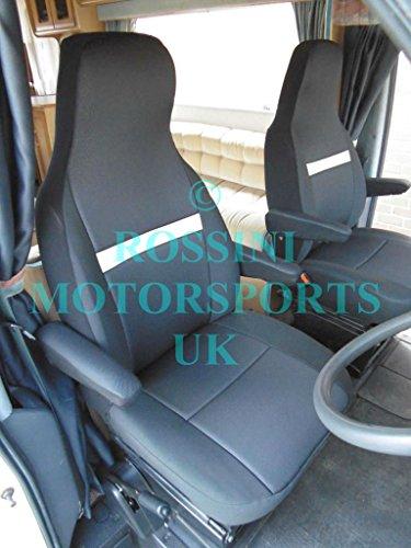 Rossini Motorsports RAPVC-TEMH01 PVC Seat Cover for Motorhome, Beige, 2 Units