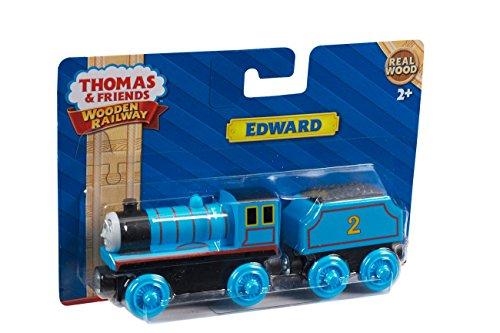 Fisher Price Thomas Wooden Railway Edward The Blue Engine