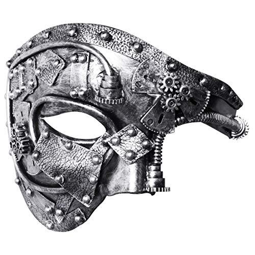 Venezianische Phantom Halbmaske - Coddsmz Maskerade Maske Steampunk Phantom der
