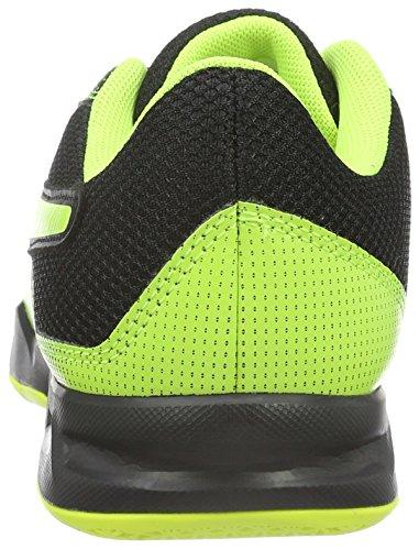 Puma Evoimpact 5.2, Scarpe da Calcio Unisex – Adulto Nero (Black-safety Yellow 01)