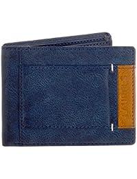 Laurels Blue Color Semi Formal Men's Wallet