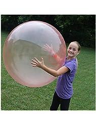 Augproveshak El Juguete Inflable de Gran tamaño de la Bola, Bola de Burbuja Transparente Grande