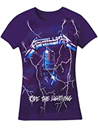 Metallica – Violet Lightning Juniors T-shirt pour homme