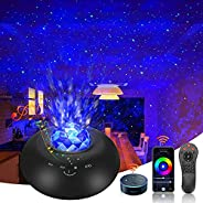 Star Projector, Smart Galaxy Projector Works with Alexa, Google Assistant, Smart App Night Light Projector wit