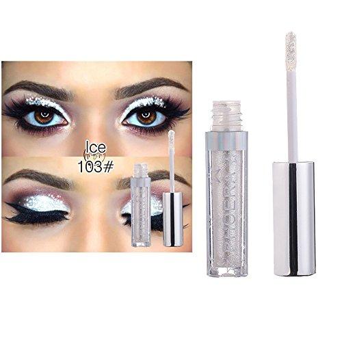 Glitter Shimmer Flüssiger Lidschatten- Liquid Eyeshadow Makeup Wasserdichte Langlebige...