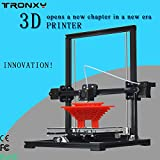 #6: Big Size High Accuracy DIY 3D Printer kit Aluminium Structure machine prusa i3 3D printing 2rolls filament 8GB SD card gifts
