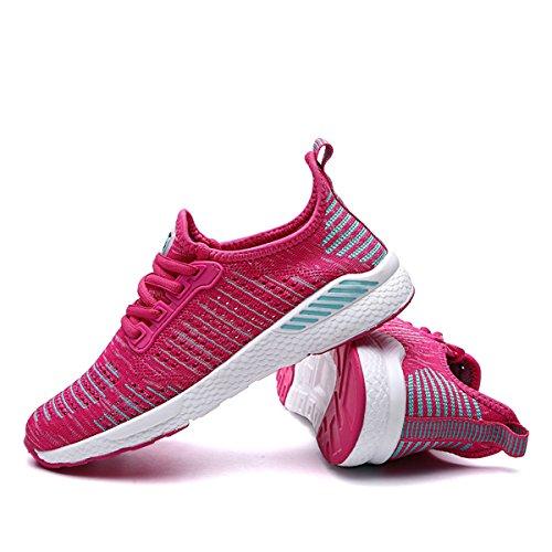 Ptérosaure Unisexe Couple Chaussures De Course Chaussures Hommes Sneakers Chaussures Sneakers Pour Femmes Respirant Non-slip Sports En Plein Air Voyage Vacances Rose