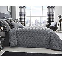 couvre lit matelass de luxe. Black Bedroom Furniture Sets. Home Design Ideas