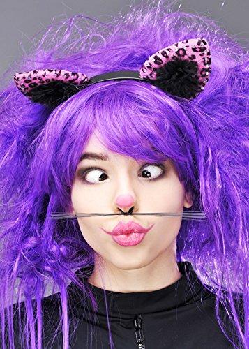 Mesdames Cheshire Cat Style oreilles de chat rose