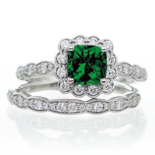 limited-time-sale-150-carat-princess-cut-emerald-and-diamond-wedding-ring-set-in-10k-white-gold-affo