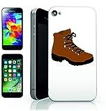 """'Smartphone Case """"scarpe da escursionismo invernale da lavoro di escursioni di Wanderer di Avventura della vita stile di sentiero di campeggio per Apple Iphone 4/4S, 5/5S, 5C, 6/6S, 7& Samsung Galaxy S4, S5, S6, S6Edge, S7, S7Edge Huawei HTC–Divertimento Motiv di culto Idea Regalo Pasqua Natale"""