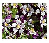 Liili Mauspad Naturkautschuk Mousepads Akelei Blumen 29538872