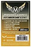 Mayday Games Buste Protettive, 57.5x89 mm, Confezione da 100 Pezzi