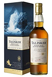 Talisker 18 Year Old Scotch Whisky 70 cl from Talisker