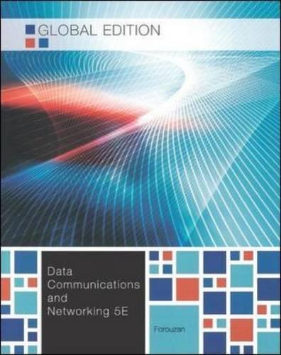 Data communications and networking. Global edition (Informatica) por Behrouz A. Forouzan