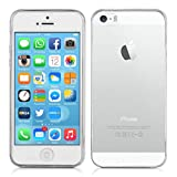 ArktisPRO iPhone SE Hülle Invisible Air Case (Klar / Transparente Schutzhülle TPU Silikon Cover Handyhülle perfekt für das neue Apple iPhone SE)