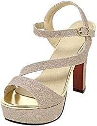 it Alto Scarpe Sandali Da Donna Tacco Oro Amazon t6dUwUq