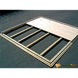 Plancher en bois pour abri de jardin en bois 300x200cm