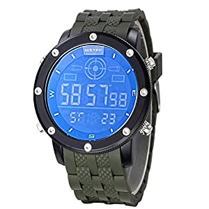 bistec s sport watches led digital screen large